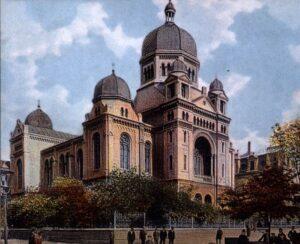 Antica sinagoga di Lodz